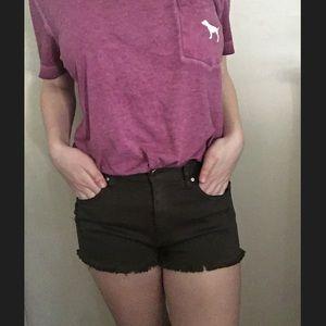 NWT H&M Army Green Denim Shorts